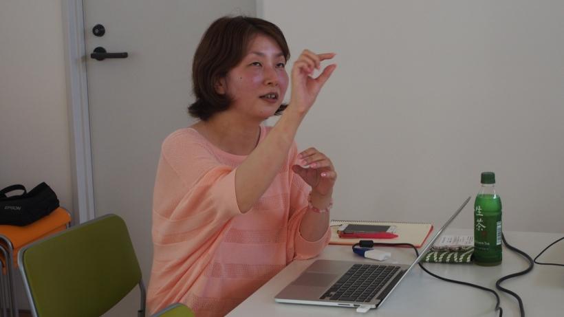 講師の水野浩世さん